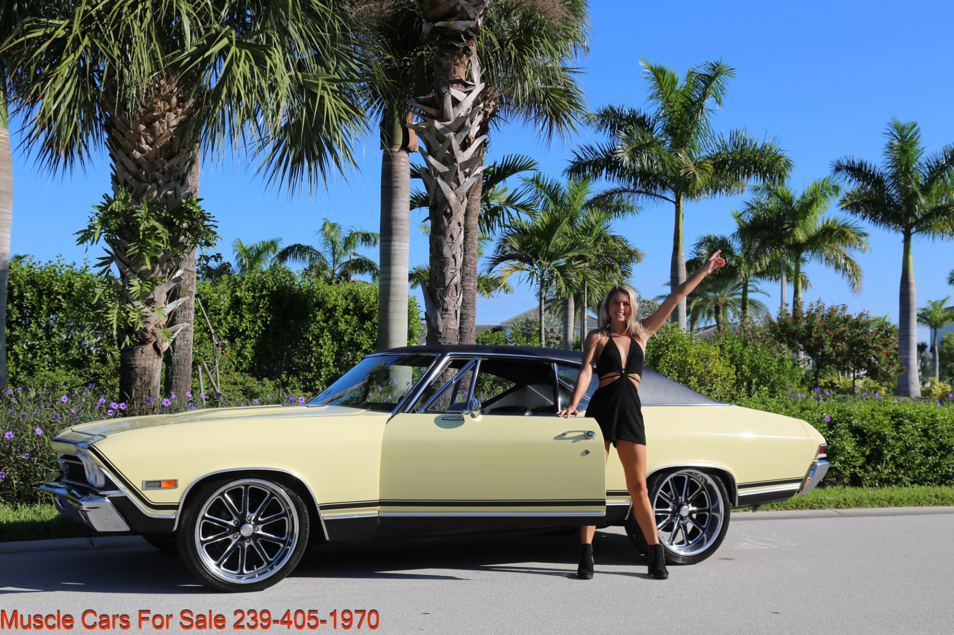 Used 1968 Chevrolet Chevelle SS 2 door for sale Sold at Muscle Cars for Sale Inc. in Fort Myers FL 33912 6