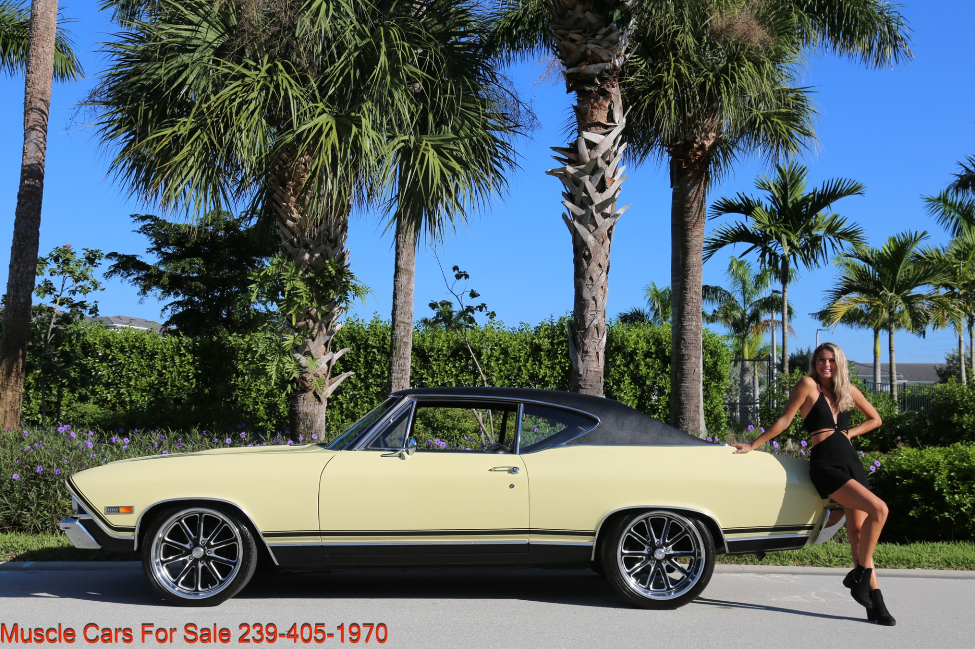 Used 1968 Chevrolet Chevelle SS 2 door for sale Sold at Muscle Cars for Sale Inc. in Fort Myers FL 33912 7
