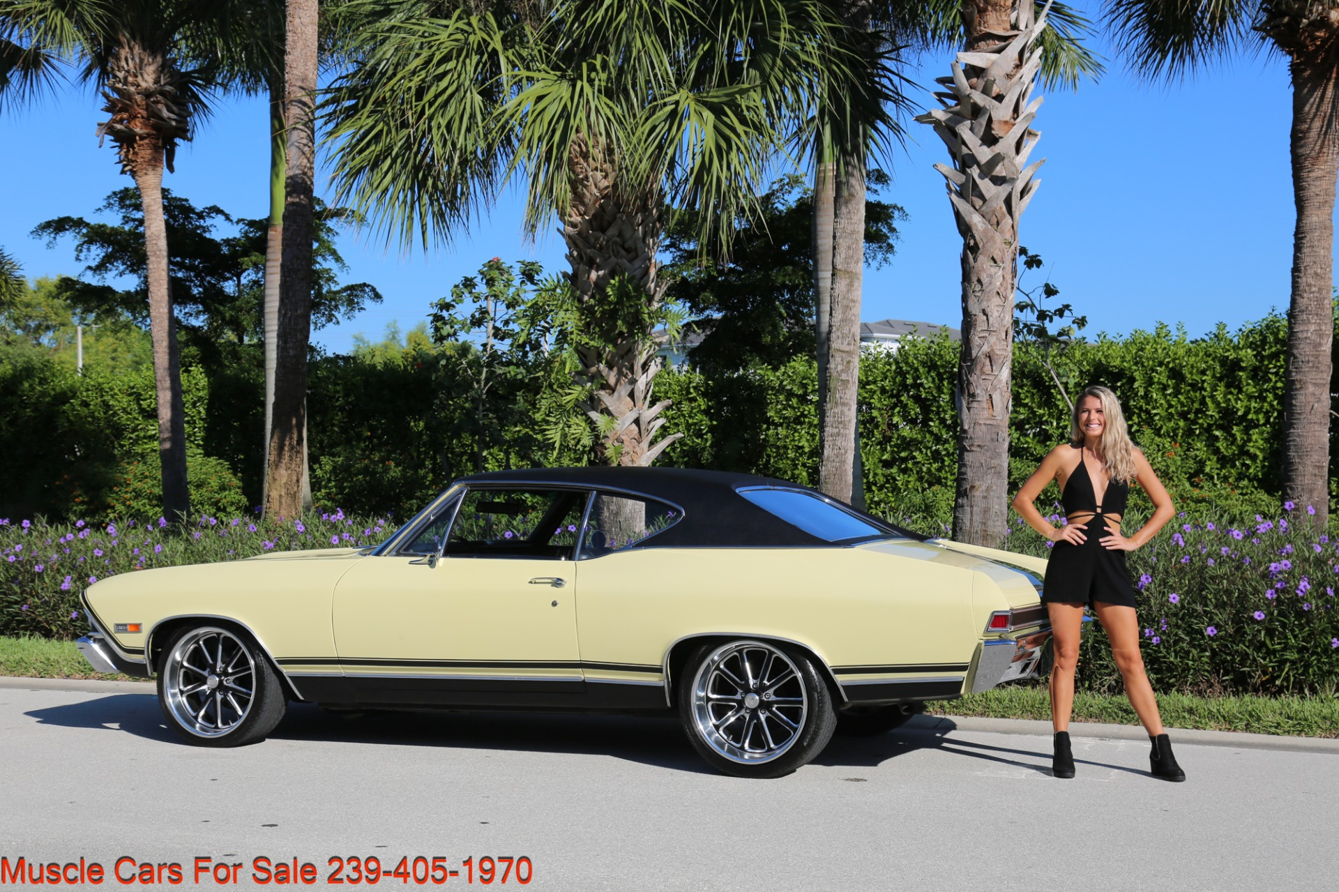 Used 1968 Chevrolet Chevelle SS 2 door for sale Sold at Muscle Cars for Sale Inc. in Fort Myers FL 33912 8