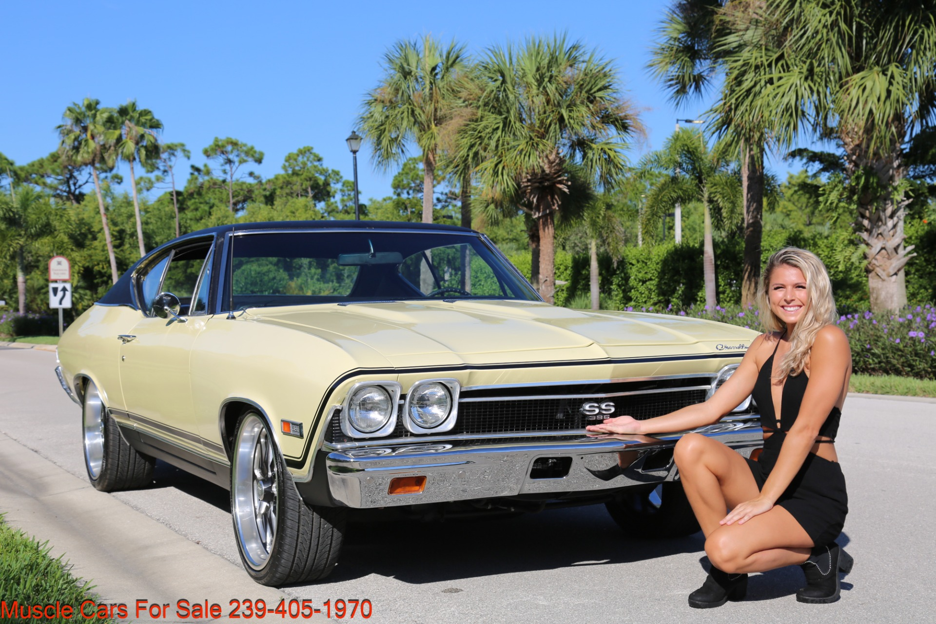 Used 1968 Chevrolet Chevelle SS 2 door for sale Sold at Muscle Cars for Sale Inc. in Fort Myers FL 33912 1