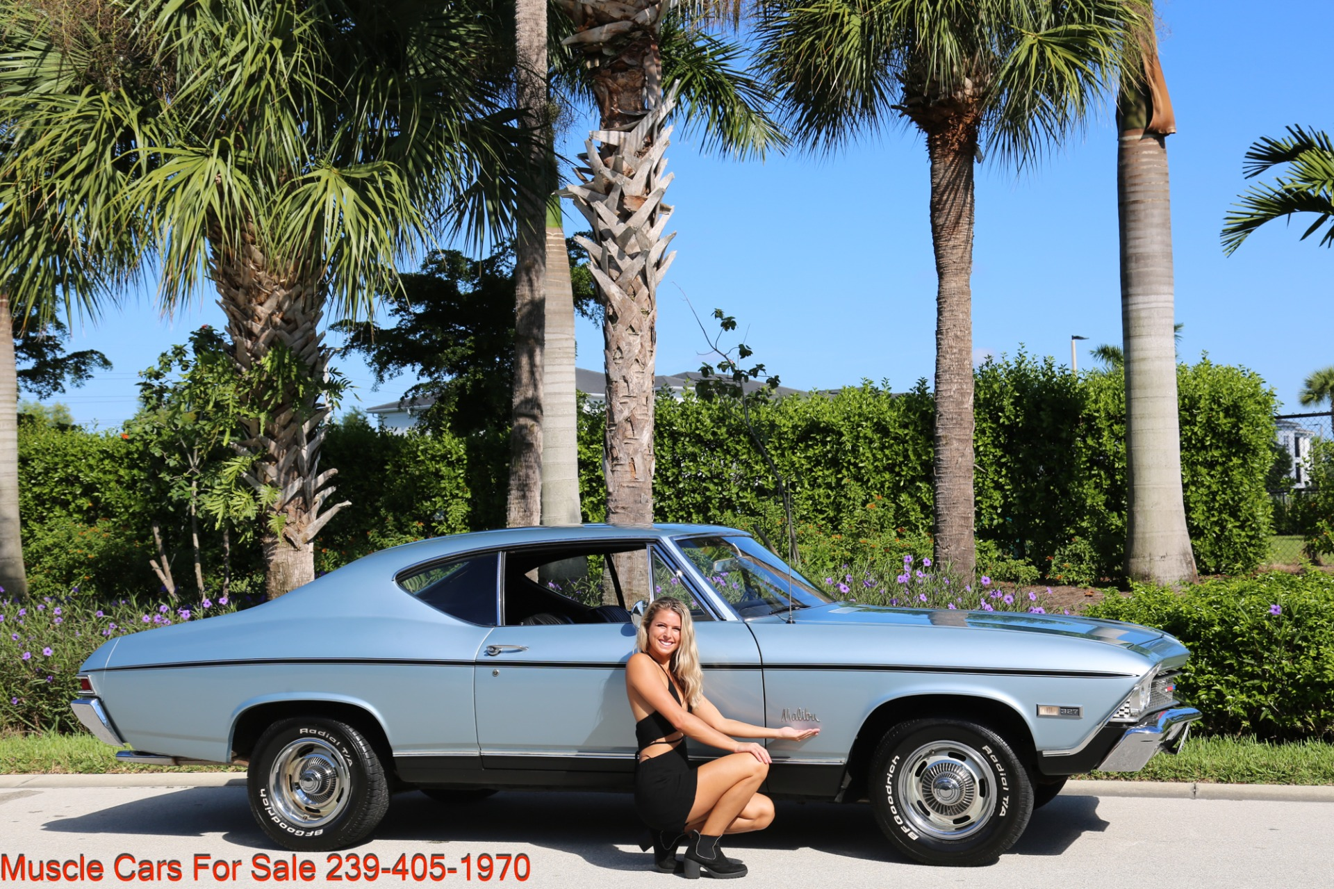 Used 1968 Chevrolet Chevelle Malibu Chevelle Malibu for sale $33,700 at Muscle Cars for Sale Inc. in Fort Myers FL 33912 3