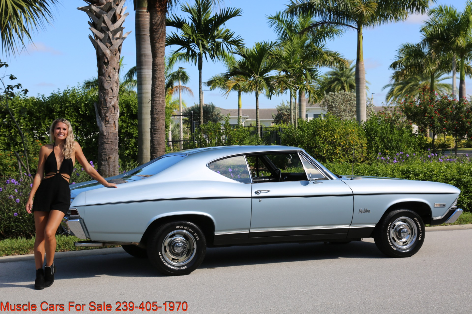 Used 1968 Chevrolet Chevelle Malibu Chevelle Malibu for sale $33,700 at Muscle Cars for Sale Inc. in Fort Myers FL 33912 6