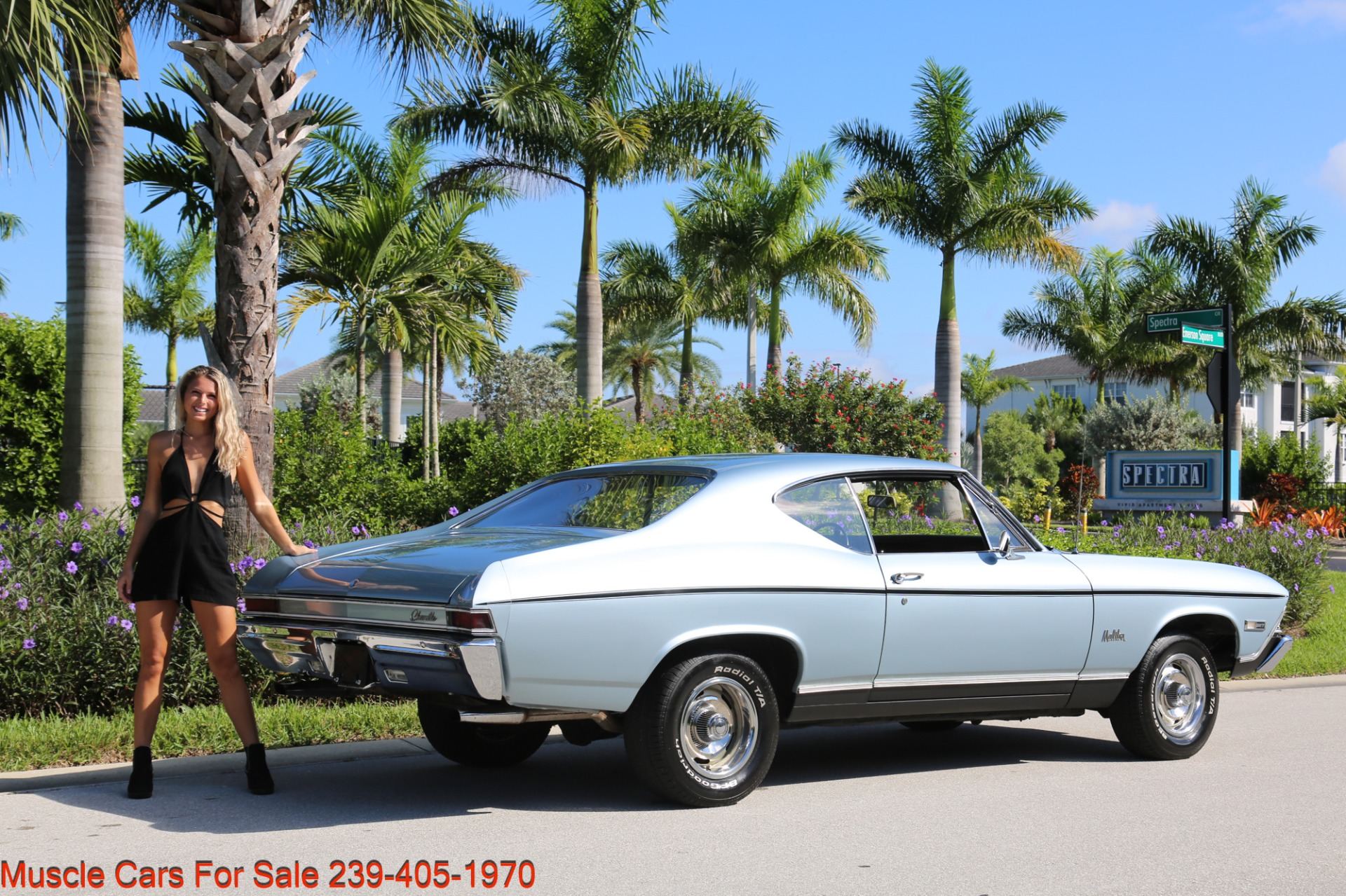 Used 1968 Chevrolet Chevelle Malibu Chevelle Malibu for sale $33,700 at Muscle Cars for Sale Inc. in Fort Myers FL 33912 7