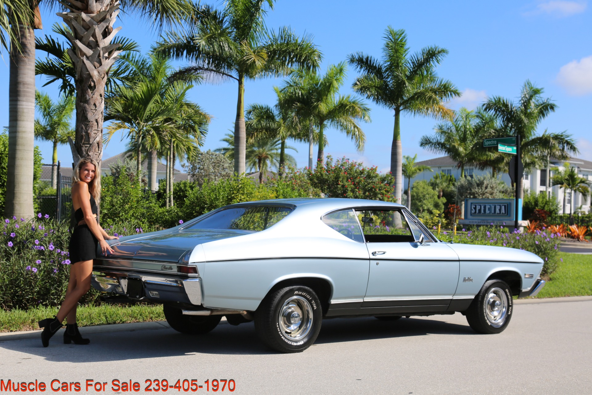 Used 1968 Chevrolet Chevelle Malibu Chevelle Malibu for sale $33,700 at Muscle Cars for Sale Inc. in Fort Myers FL 33912 8
