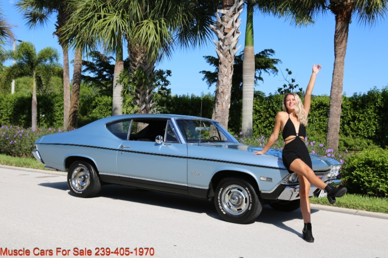 Used 1968 Chevrolet Chevelle Malibu Chevelle Malibu for sale $33,700 at Muscle Cars for Sale Inc. in Fort Myers FL
