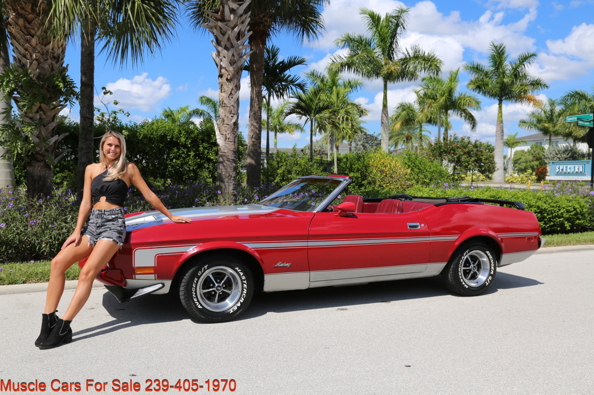 Used 1973 Ford Mustang Convertible for sale Sold at Muscle Cars for Sale Inc. in Fort Myers FL 33912 2