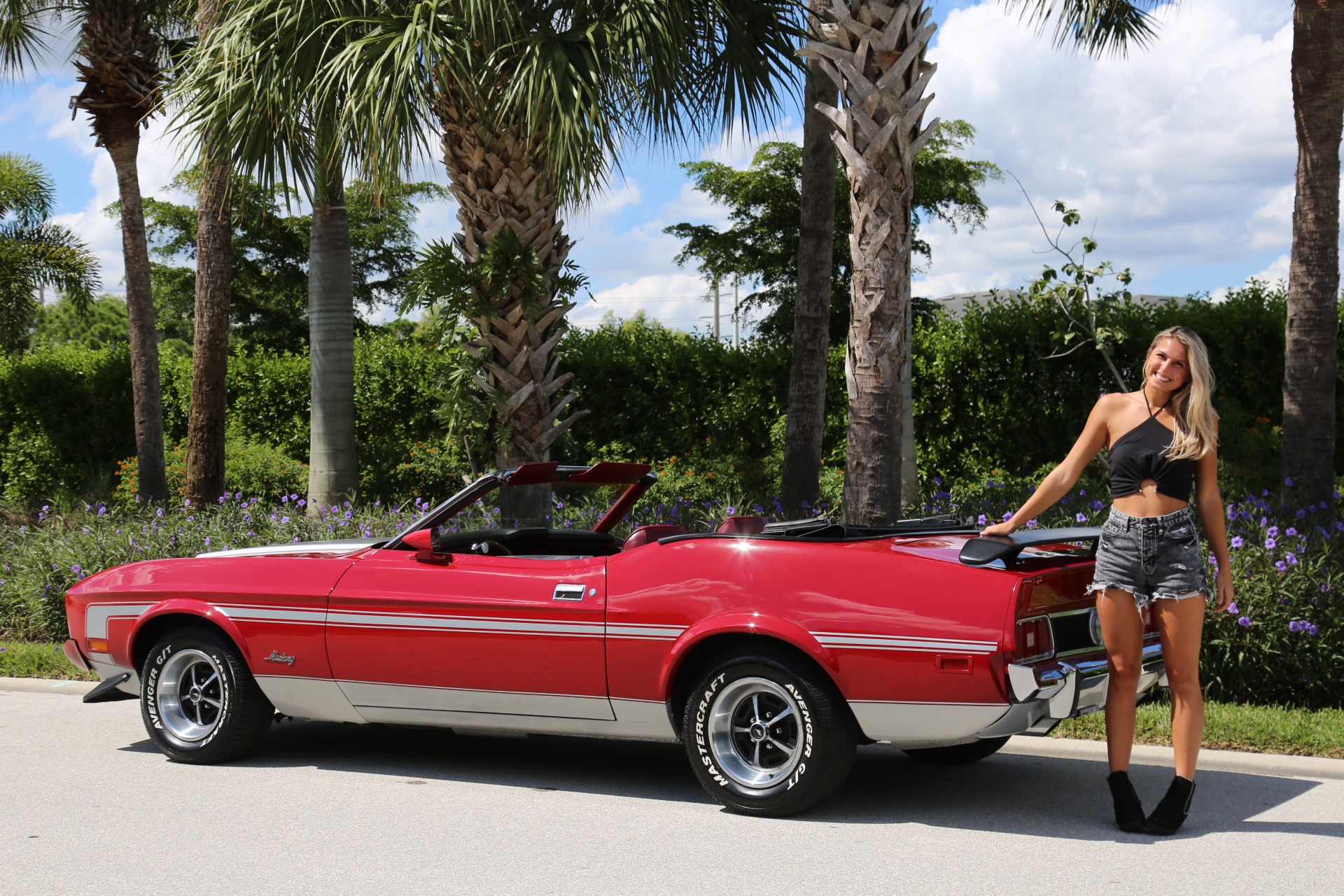 Used 1973 Ford Mustang Convertible for sale Sold at Muscle Cars for Sale Inc. in Fort Myers FL 33912 5