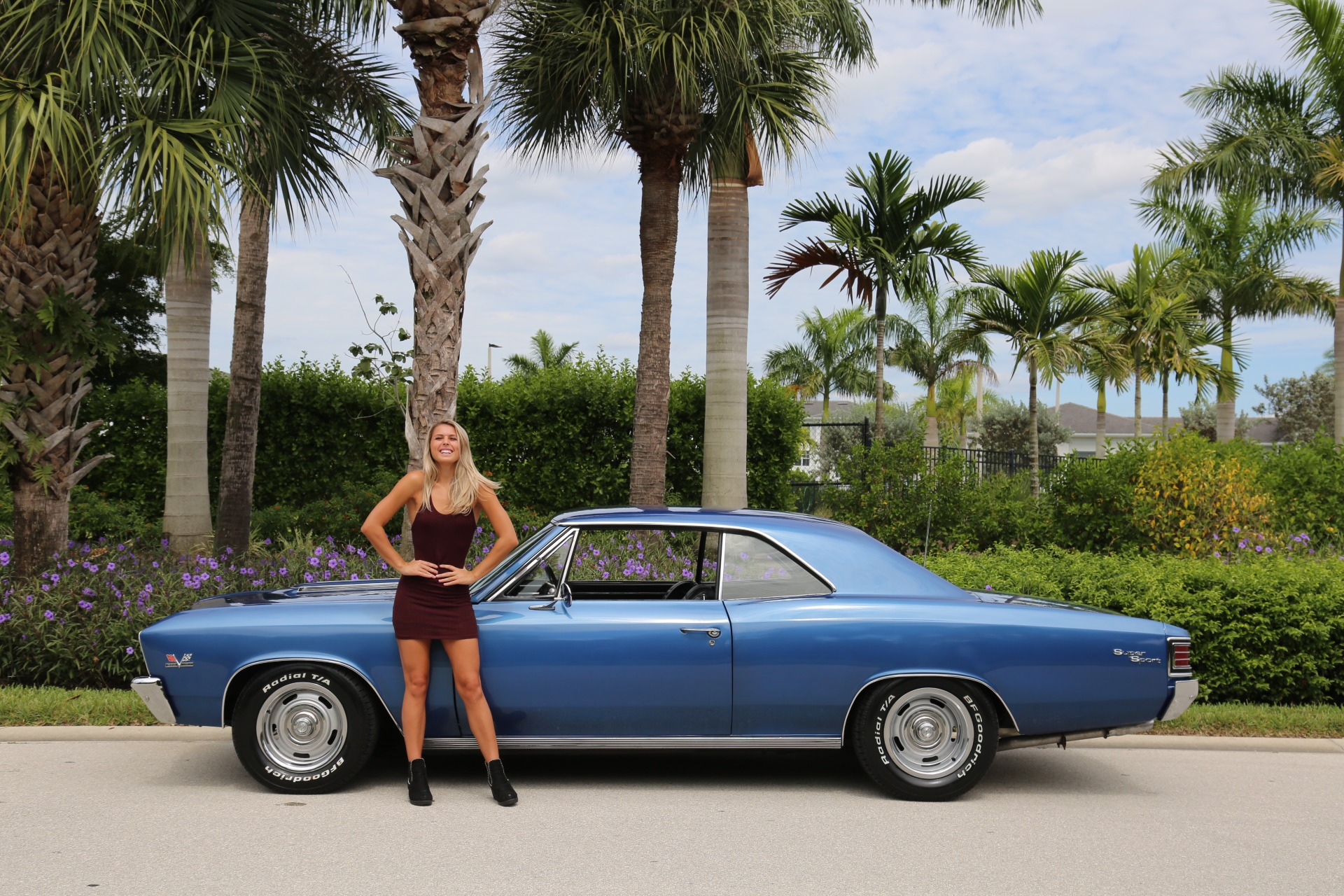 Used 1967 Chevrolet Chevelle SS Super Sport 396 for sale $47,000 at Muscle Cars for Sale Inc. in Fort Myers FL 33912 2