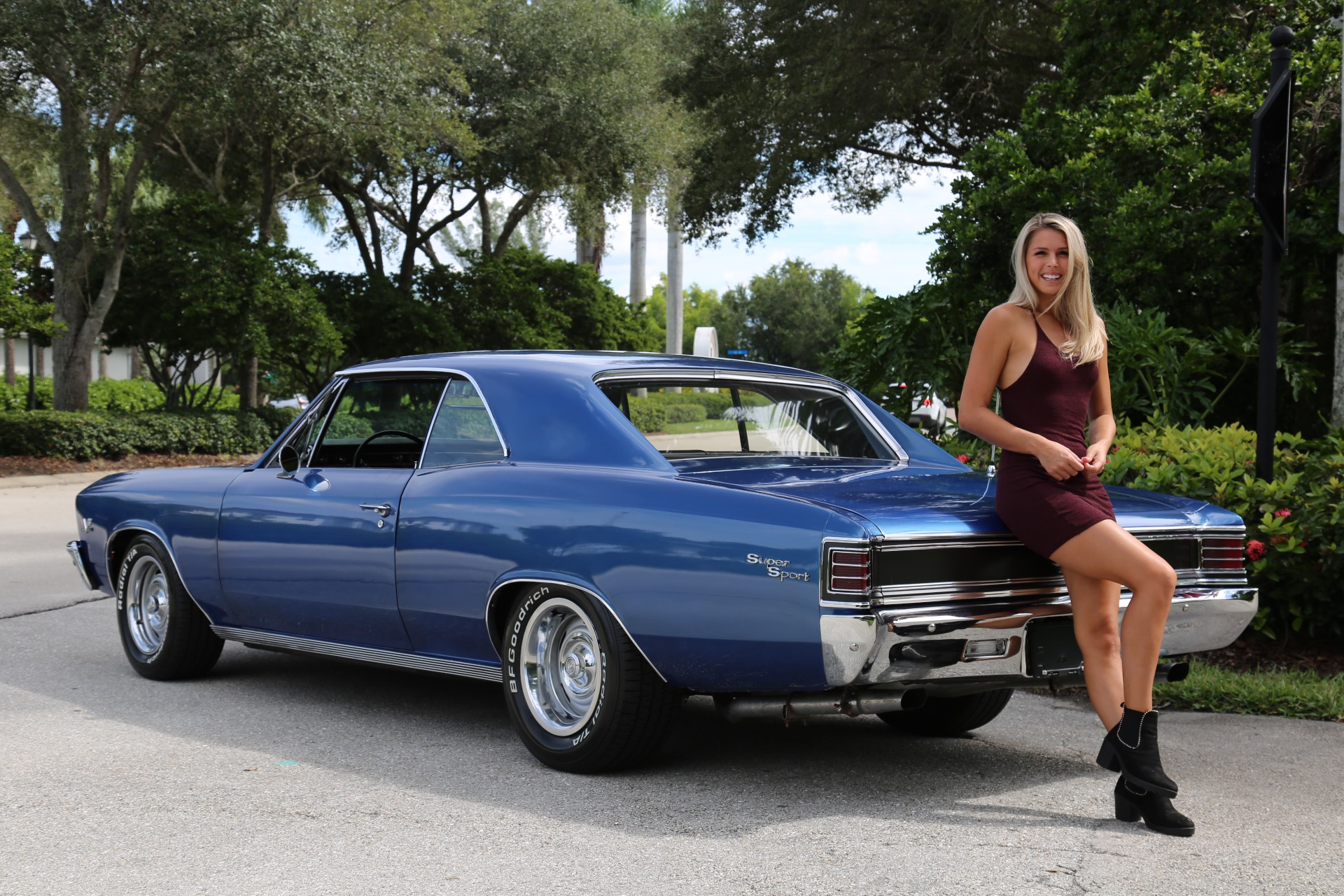 Used 1967 Chevrolet Chevelle SS Super Sport 396 for sale $47,000 at Muscle Cars for Sale Inc. in Fort Myers FL 33912 6
