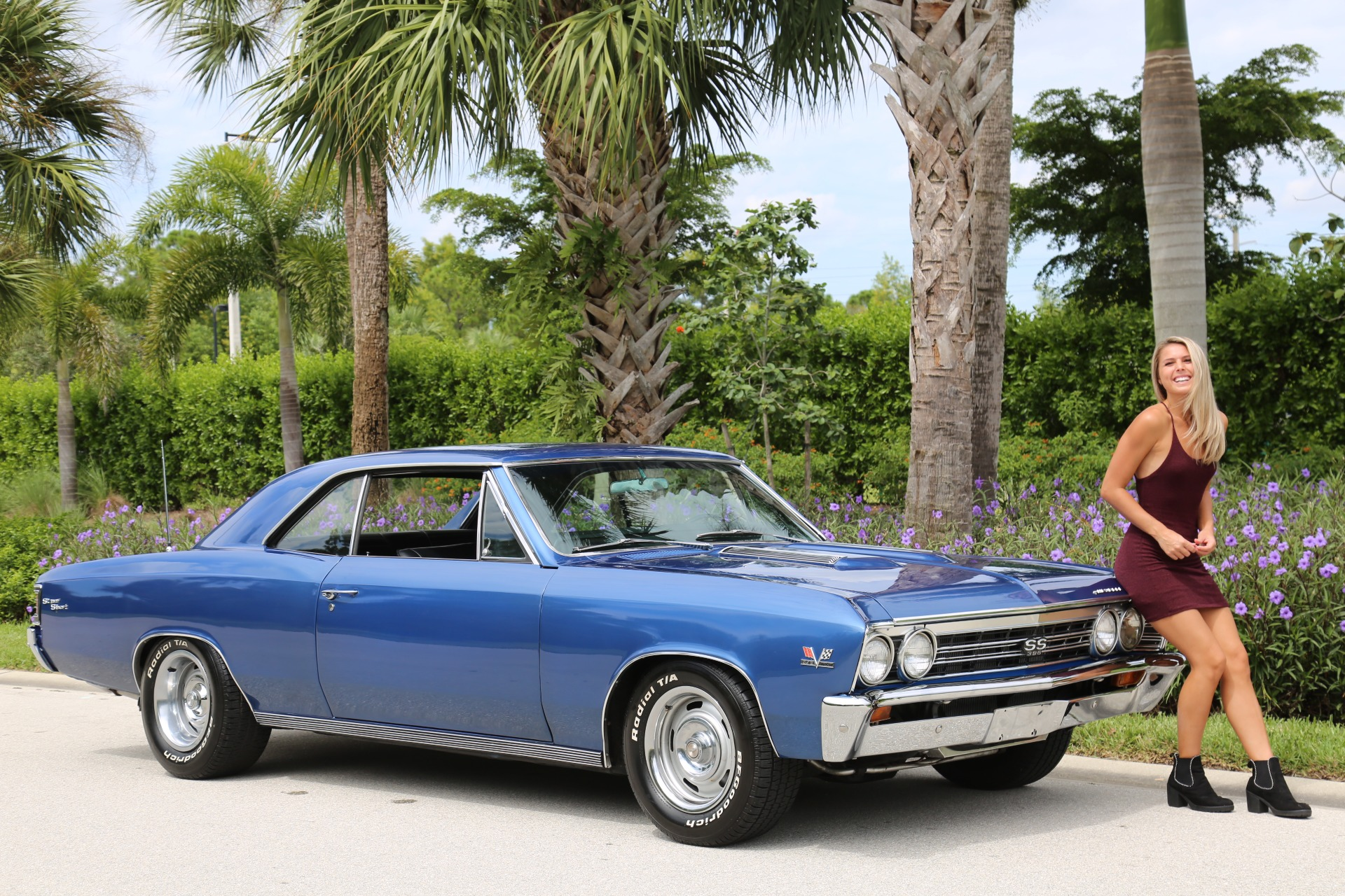 Used 1967 Chevrolet Chevelle SS Super Sport 396 for sale $47,000 at Muscle Cars for Sale Inc. in Fort Myers FL 33912 1
