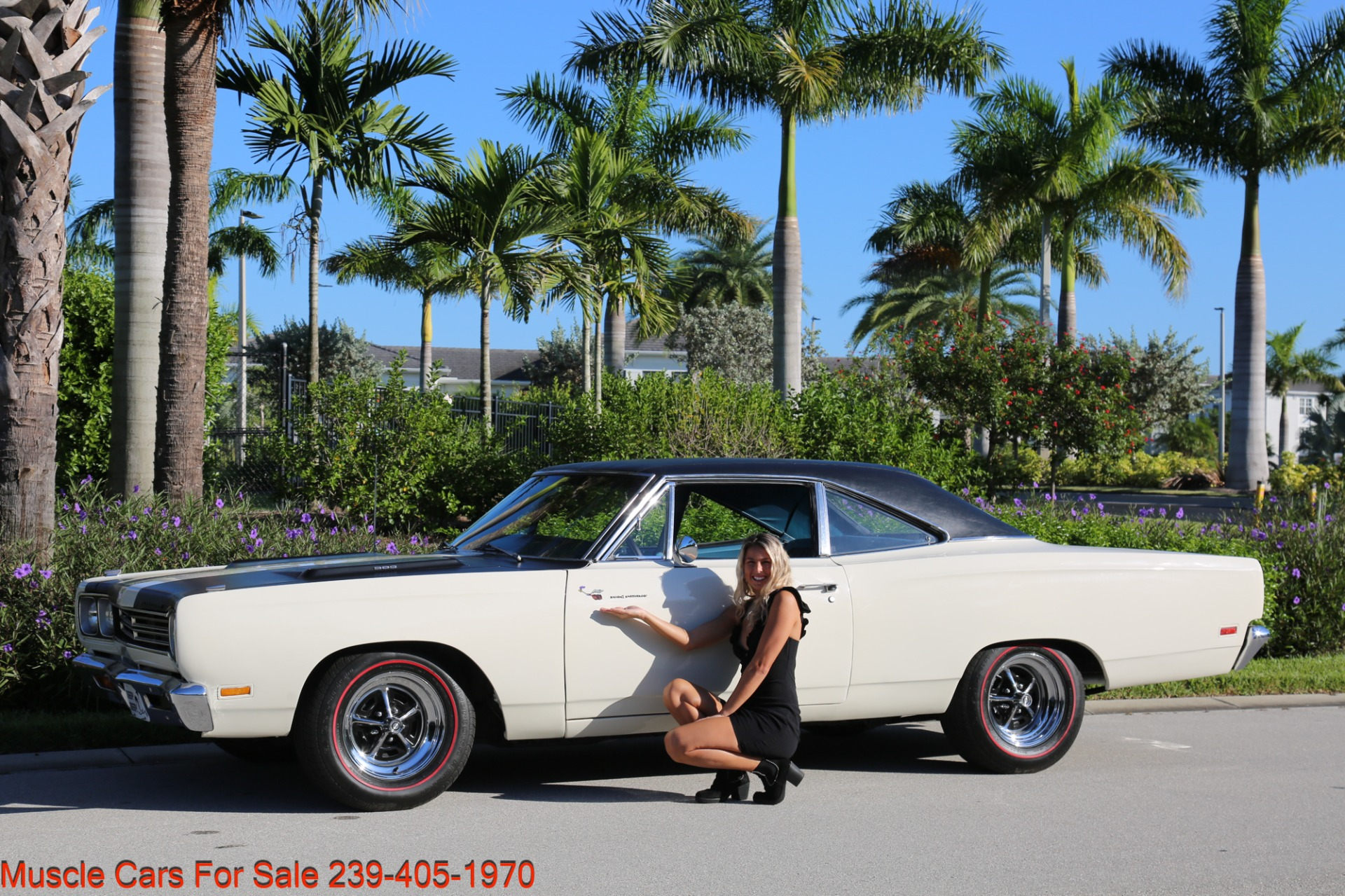 Used 1969 Plymouth Road Runner Road Runner for sale Sold at Muscle Cars for Sale Inc. in Fort Myers FL 33912 1