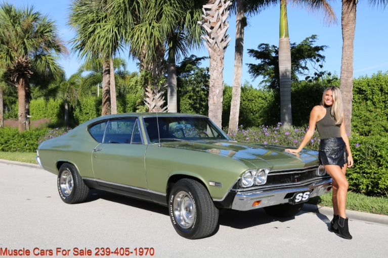 Used 1968 Chevrolet Chevelle SS SS 396 for sale $35,700 at Muscle Cars for Sale Inc. in Fort Myers FL